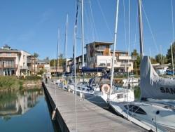 Balatonfüred - Silver Yacht Club - lodný prístav  Balatonfüred