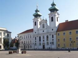 Benediktínsky kostol Sv. Ignáca s Loyoly - Győr Győr