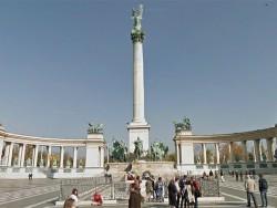 Námestie hrdinov - Budapest Budapešť