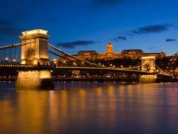 Széchenyiho reťazový most - Budapest Budapešť