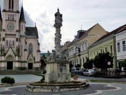 Súsošie sv. Trojice (morový stĺp) - Kőszeg Kőszeg