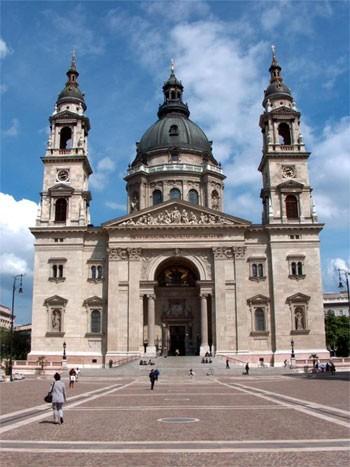 Bazilika Sv 228 T 233 Ho Tefana Budapest Budape ť Kostoly