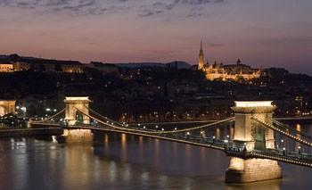 Budapešť - noční panoráma