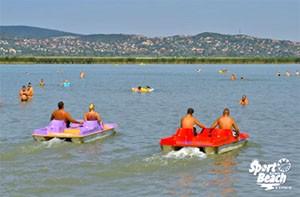 Gárdony - Jazero Velence - Sport Beach