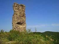 Mátraderecske - zrúcanina hradu Kanázsvár