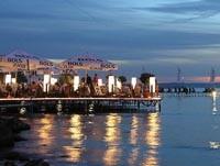 Nočný život na brehu Balatonu
