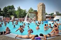 bazén leto