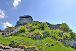 zřícenina hradu Salgó
