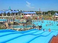 Aquapark a kúpalisko Sárvár