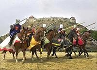 Hrad Sümeg - jezdecké hry