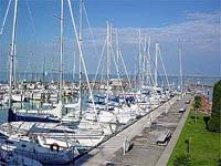 Prístav plachetníc, Tihany - Balaton