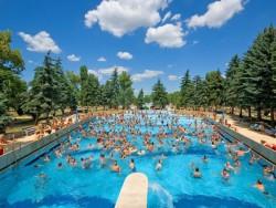 Palatinus letné termálne kúpalisko Budapešť Budapešť