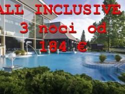 All inclusive akcia na 3 noci  Bükfürdő