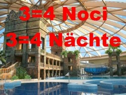 Aquaworld 3=4 noci Budapešť