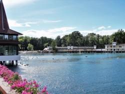 Čaro termálneho jazera Hévíz Hévíz