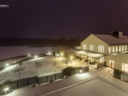 Vianoce pri jazere Tisza